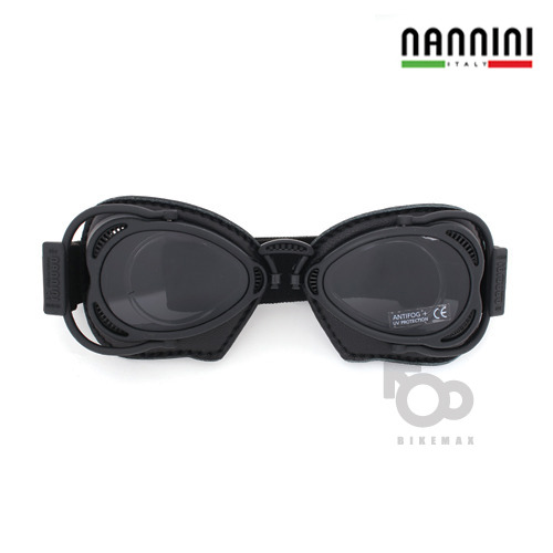 NANNINI  HOT ROD WITH  BLACK SEWING   - black -  난니니고글입점!!