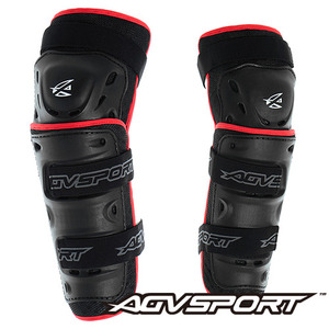 AGV SportKnee Guard무릎003 - black/red -