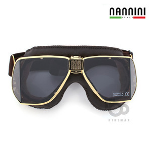 NANNINI  CUSTOM   - golden/brown -  난니니고글입점!!