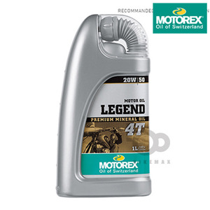 MOTOREXLUBRICANTS4T 50%LEGEND20W50    모토렉스입점!!