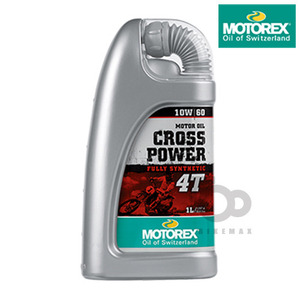 MOTOREXLUBRICANTS4T 100%CROSS POWER10W60     모토렉스입점!!
